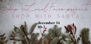 Shop Local Faire presents Shop with Santa @ Bel Air Armory | Bel Air | Maryland | United States